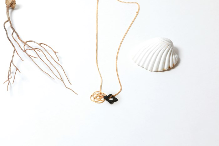 Collier rosace 2