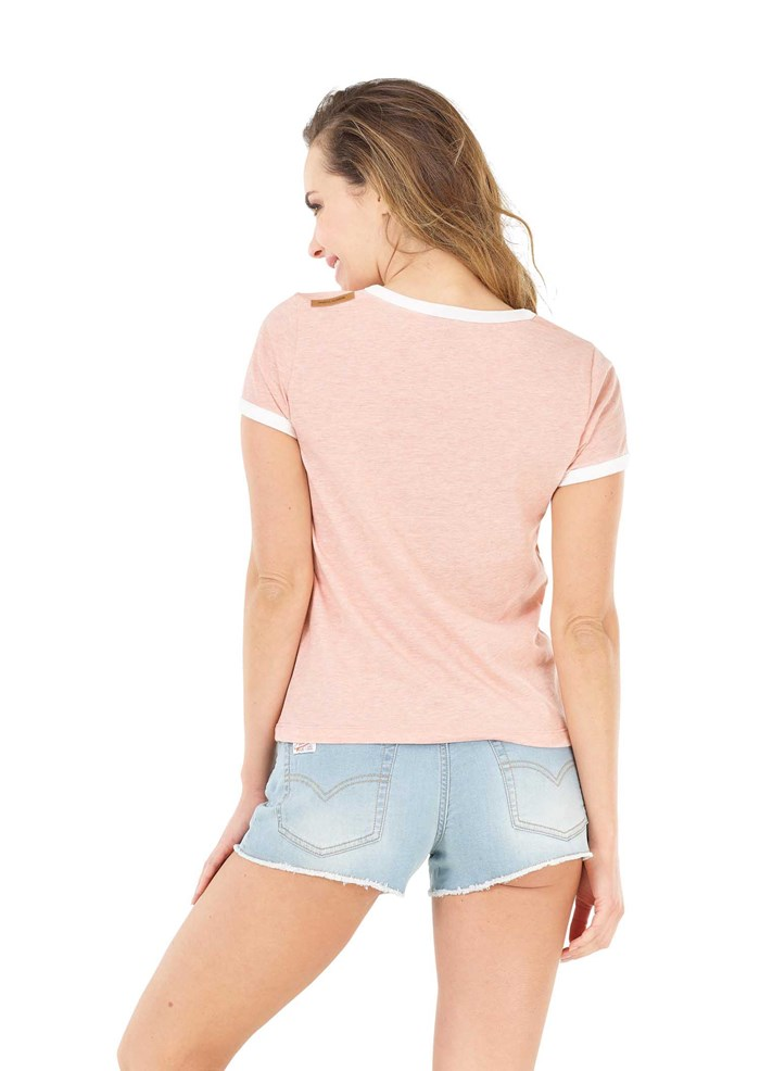 Tee-shirt rose Heritage - Picture 3