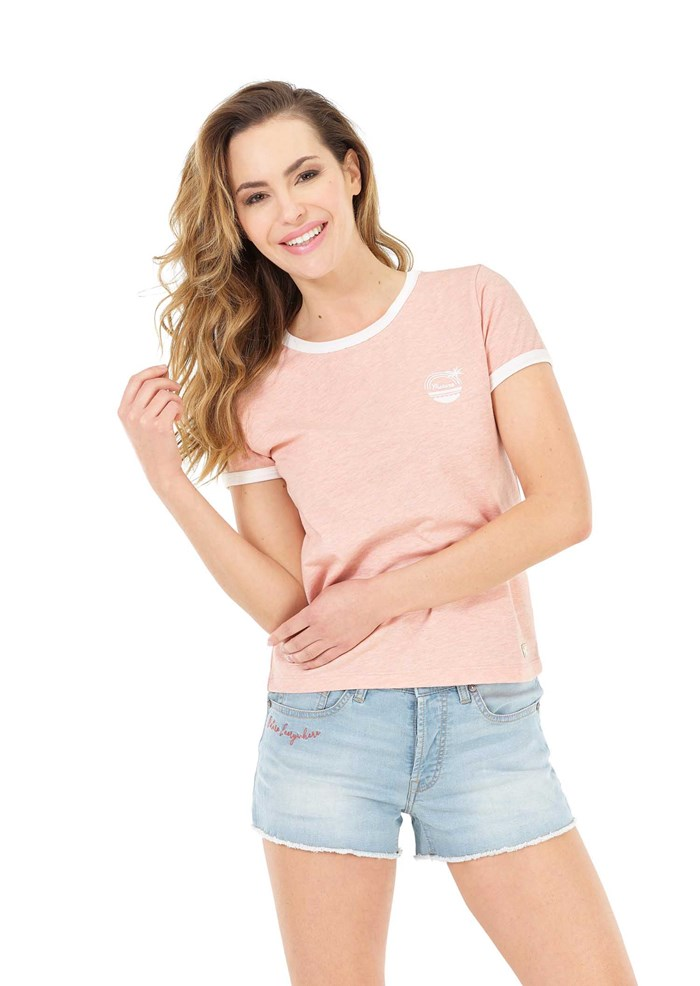 Tee-shirt rose Heritage - Picture 2