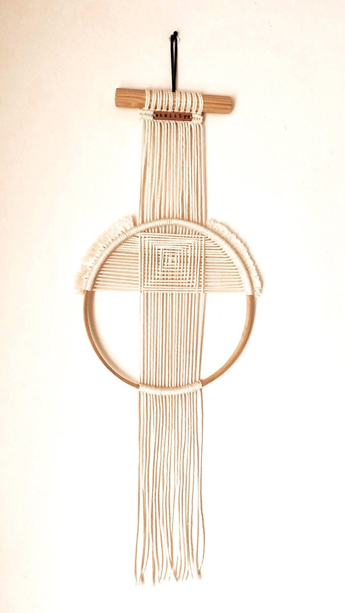SUSPENSION MURALE CERCLE  MACRAMÉ BY TALILY  3