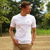tshirt blanc homme made in france