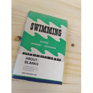 """NOT A BOOK A NOTEBOOK ! """"SWIMMING INSTRUCTION"""" de About Blanks"""