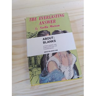 """NOT A BOOK A NOTEBOOK ! """"THE EVERLASTING ANSWER"""" de About Blanks"""