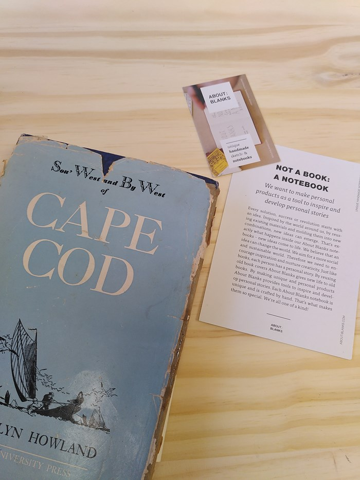 "NOT A BOOK A NOTEBOOK ! ""CAPE COD"" de About Blanks 5"