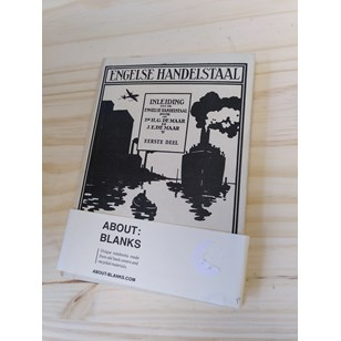 "NOT A BOOK A NOTEBOOK ! ""ENGELSE HANDELSTAAL"" de About Blanks"