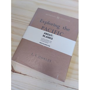 """NOT A BOOK A NOTEBOOK ! """"EXPLORING PACIFIC"""" de About Blanks"""