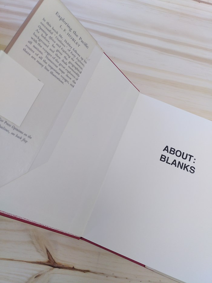 """NOT A BOOK A NOTEBOOK ! """"EXPLORING PACIFIC"""" de About Blanks 3"""