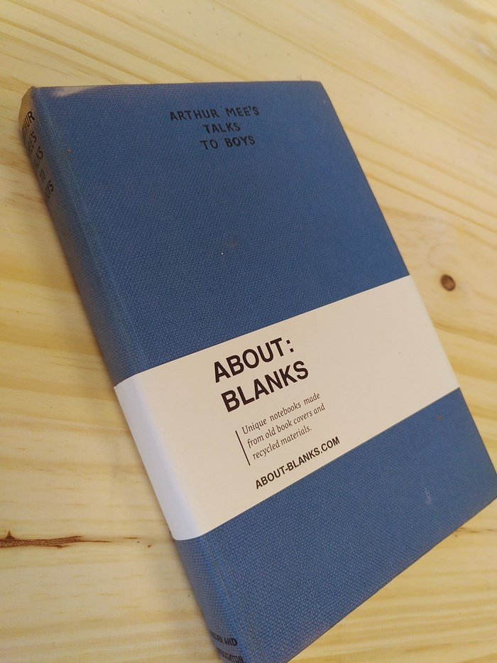 """NOT A BOOK A NOTEBOOK ! """"TALKS TO BOYS"""" de About Blanks 2"""