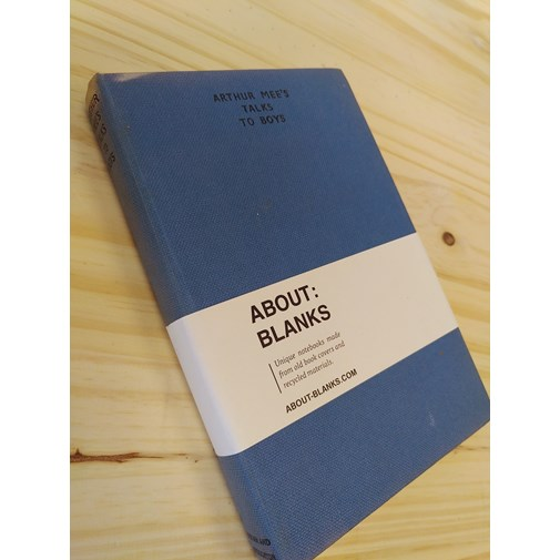 """NOT A BOOK A NOTEBOOK ! """"TALKS TO BOYS"""" de About Blanks"""