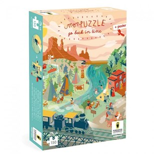 Puzzle FARWEST Go Back In Time - Pirouette Cacahouète