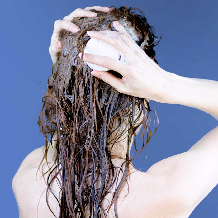 Shampoing solide cheveux