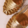 Chaussure-sandales-ecoresponsable-etreamis-modele-brune-cuir-colori-Or