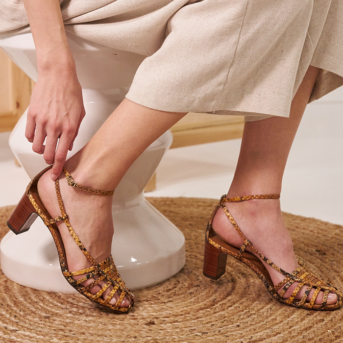 Chaussure-sandales-ecoresponsable-etreamis-modele-brune-cuir-colori-beige-made-in-Portugal
