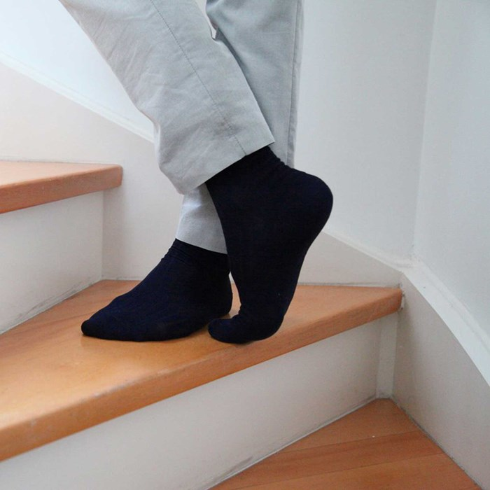 Semainier de chaussettes made in France Frenchy Navy 4