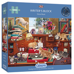 GIBSONS - Puzzle Writer's Block 1000 Pièces