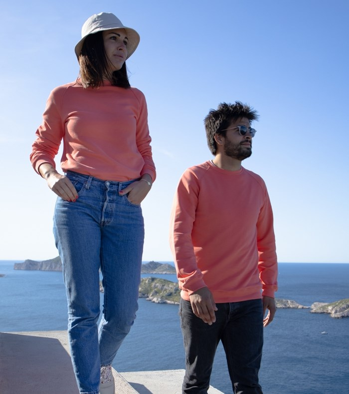 Sweatshirt Corail - recyclé et Made in France 3