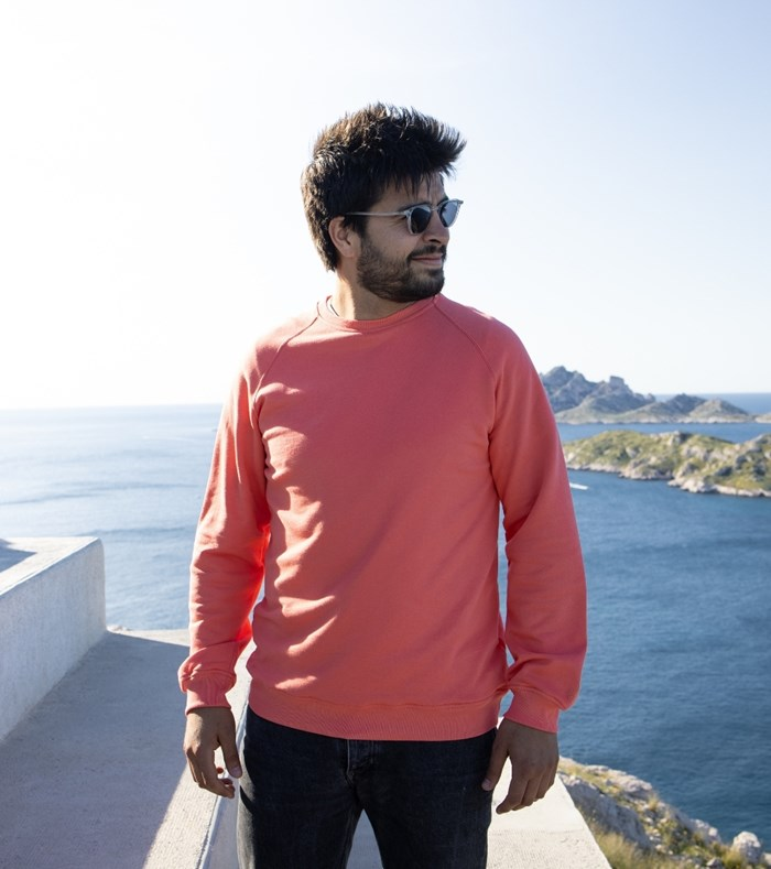 Sweatshirt Corail - recyclé et Made in France 2