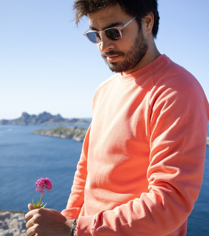 Sweatshirt Corail - recyclé et Made in France 6