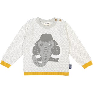 Pull tricot manches longues - MAMMOUTH 2 à 8 ans