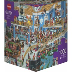 Puzzle Heye - Chaotic Casino - 1000 Pièces