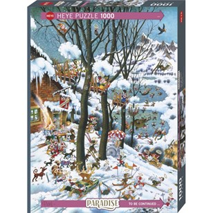Puzzle Heye - In Winter - 1000 Pièces