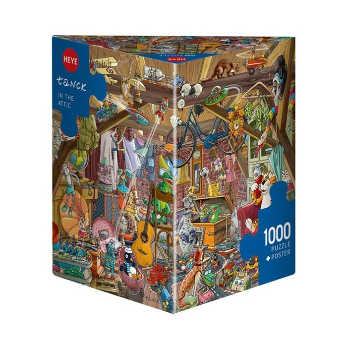 Puzzle Heye - In The Attic - 1000 Pièces 2