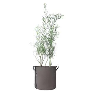 Pot rond (50L), Taupe
