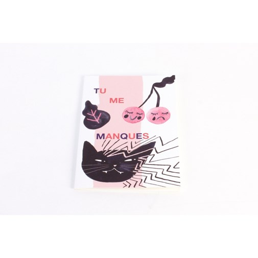 Carte double Chat - COLLECTION GIRL GANG