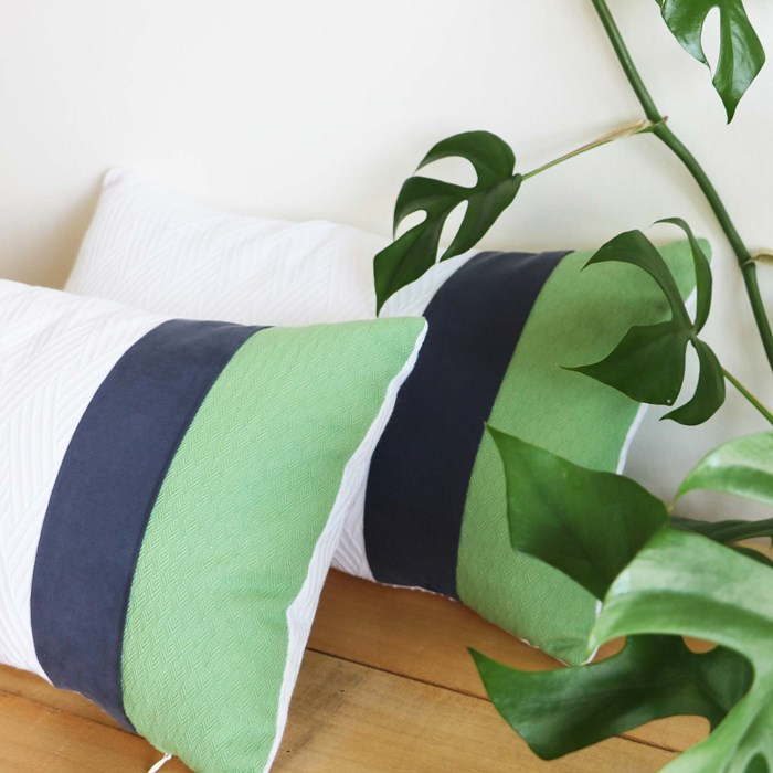 """Coussin Recyclé """"Escalet"""" Made in France"""