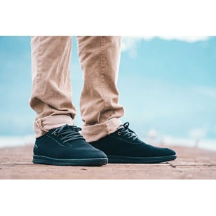 Saola chaussures éco responsables waterproof Mindo Black Homme