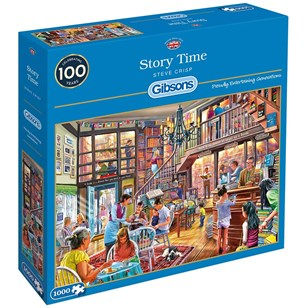 Puzzle GIBSONS - Story Time - 1000 Pièces
