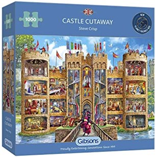 Puzzle GIBSONS - Castle Cutaway - 1000 Pièces