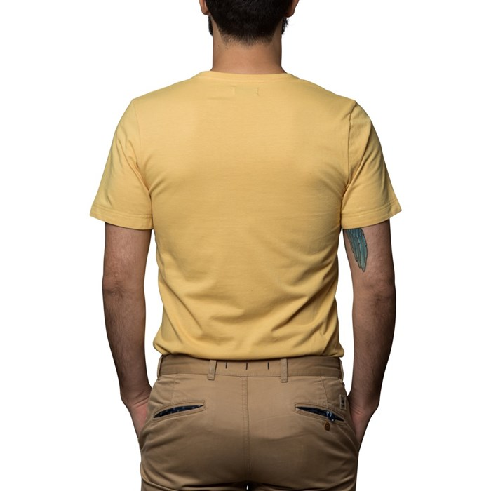 T-shirt Ocre - coton Bio - Made in France 3