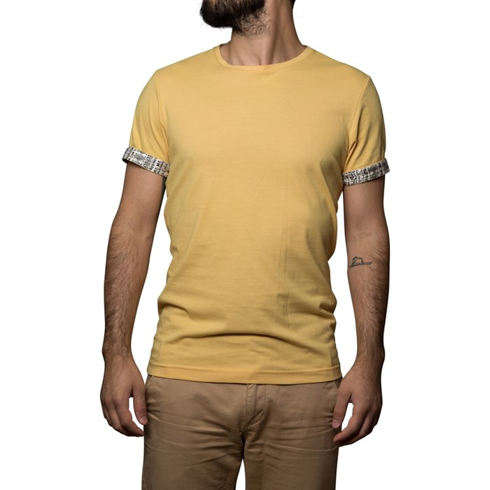 T-shirt Ocre - coton Bio - Made in France 4