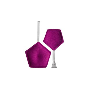 2 Absorbeurs purificateurs d'air 60 et 180g - Violet