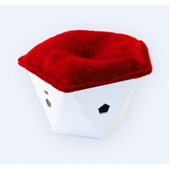 Absorbeur purificateur d'air connecté - Rouge