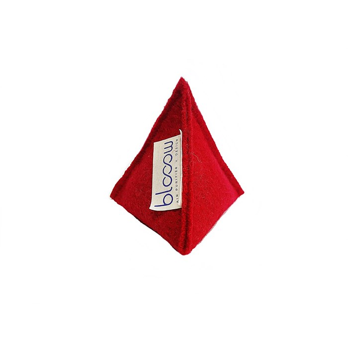 Absorbeur purificateur d'air Pyramide 60g - Rouge 2